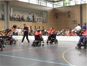 Die Rolling Thunders in Aktion am beim Swiss Cup 2007 in Deitingen (SO) (Foto: Rolling Thunder)